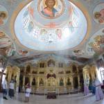 Храм. Панорама внутри.
