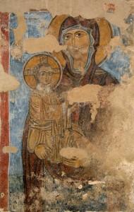 Panagia Vrefokratusa freska