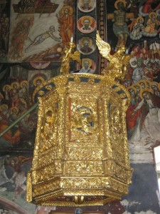 Ioann Bogoslov church interior