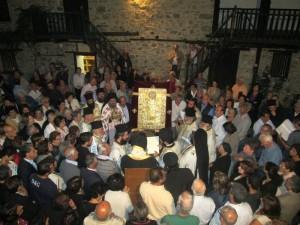Ag Ioann Lampadist mass 2014