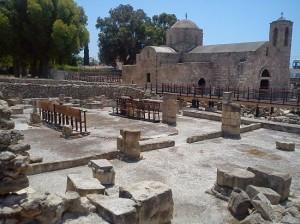 Petr i Pavel Kato Pafos ruins