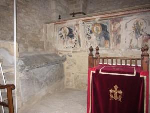 Iraklidiy monastery inside