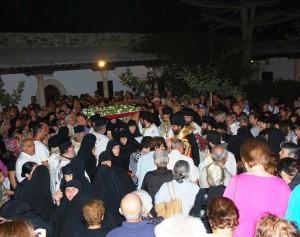 Iraklidiy monastery nuns